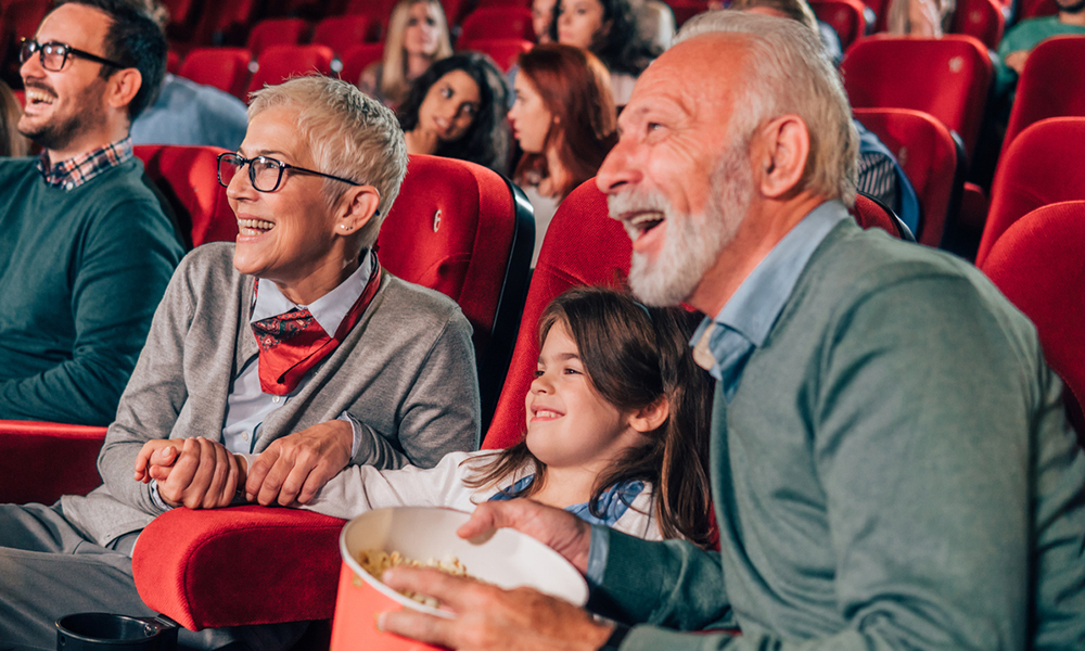 Lights, camera, action! Movie theaters near us