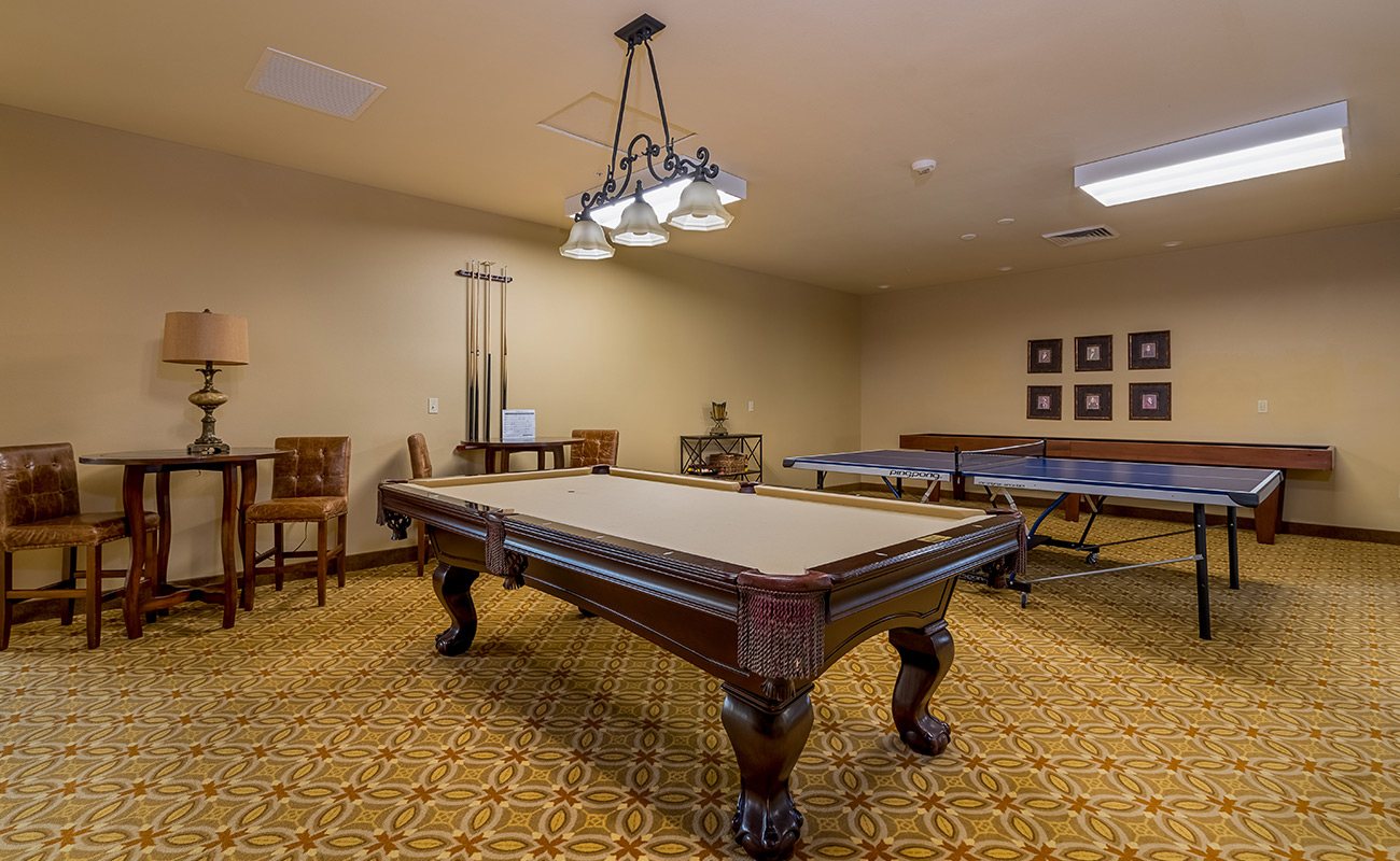 Pool Table & Game Room