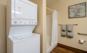 Included Washer & Dryer